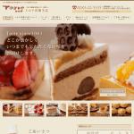 サイト制作実績 トルテ洋菓子店様