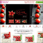 「パナプラス様 ミニトマト専用サイト」サムネイル